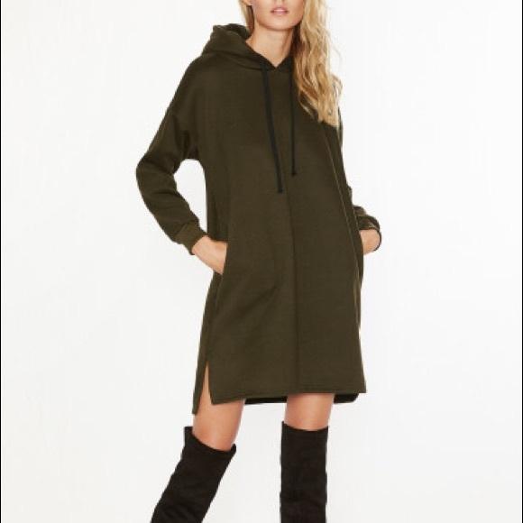 f4cf31a99 Dresses   New Hooded Sweatshirt Dress Hoodie Boyfriend Yeezy   Poshmark